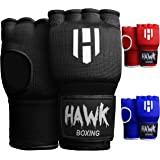 Hawk Padded Inner Gloves Training Gel Elastic Hand Wraps for Boxing Gloves Quick Wraps Men & Women Kickboxing Muay Thai…