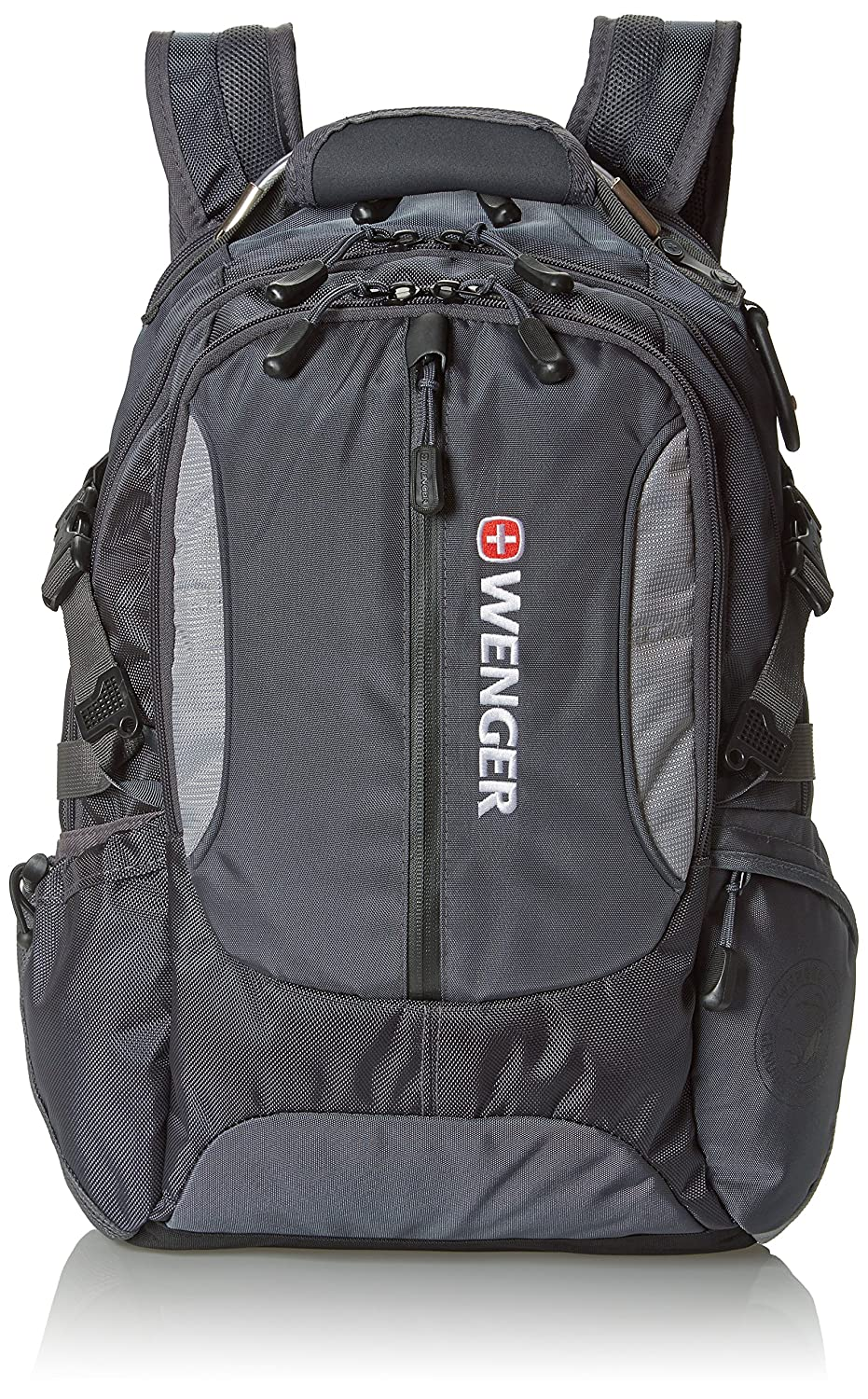 Wenger SA1537 Grey Computer Backpack Fits Most 15 Inch Laptops and Tablets