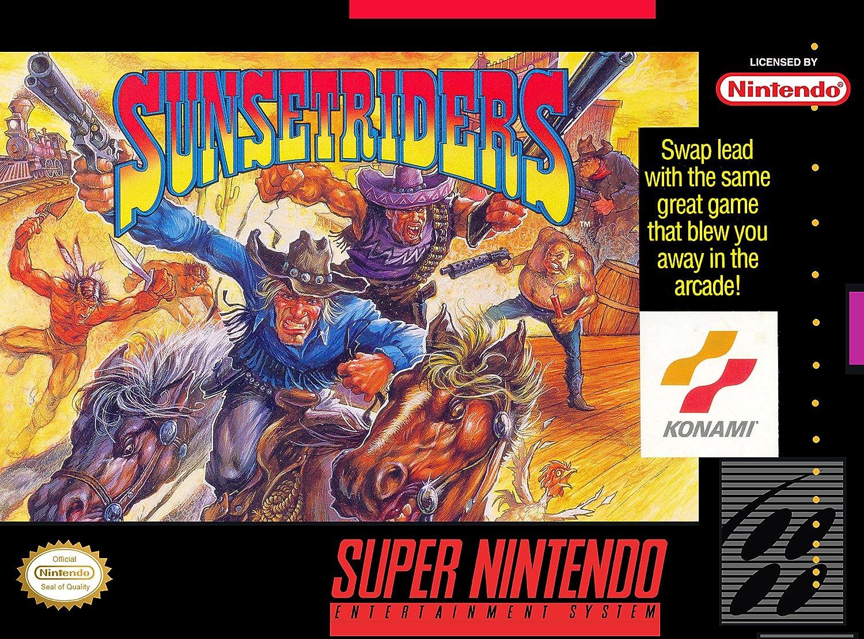 Amazon com: Sunset Riders (Super Nintendo, SNES, 1993
