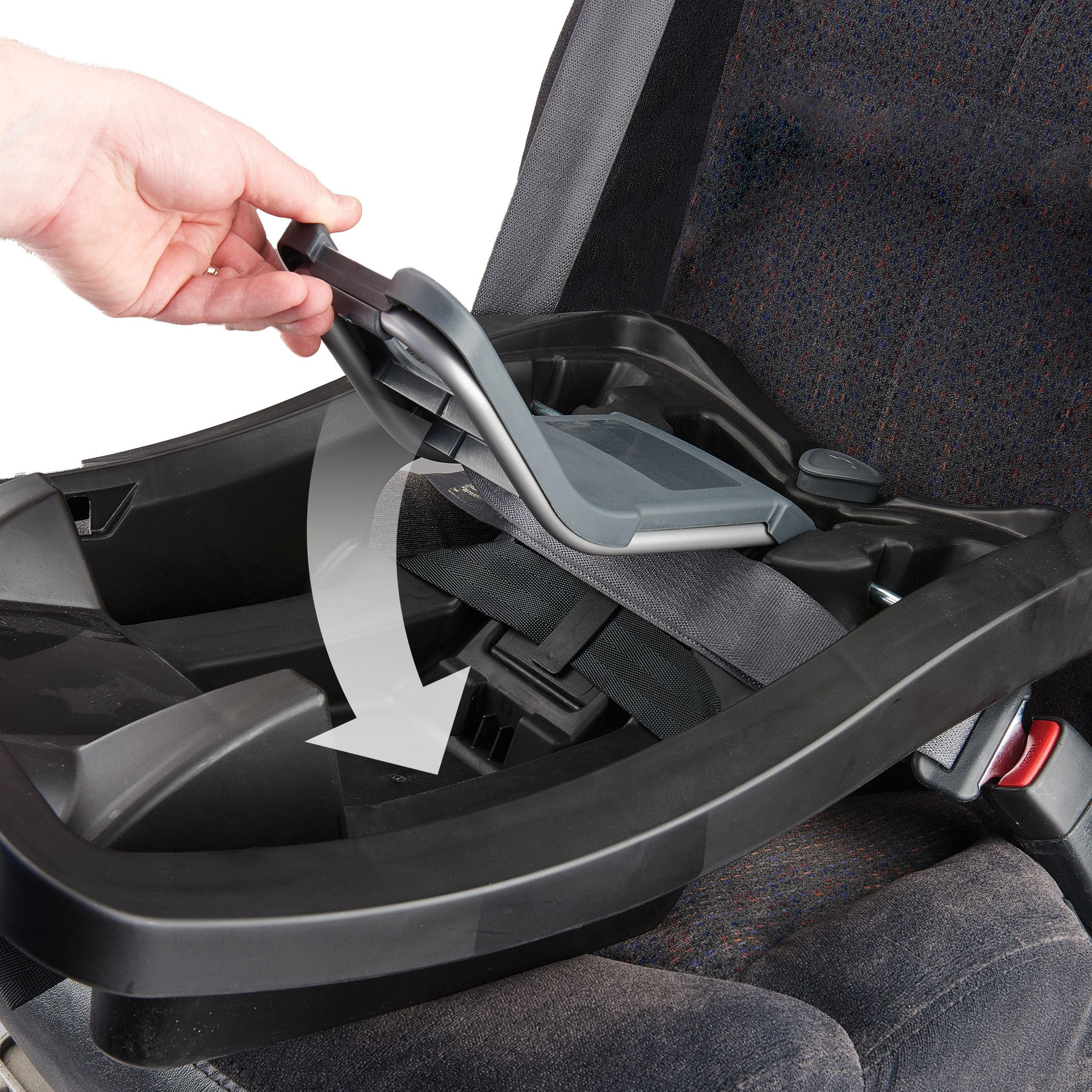 Evenflo Advanced SensorSafe Epic Travel System with LiteMax Infant Car Seat, Jet by Evenflo (Image #4)