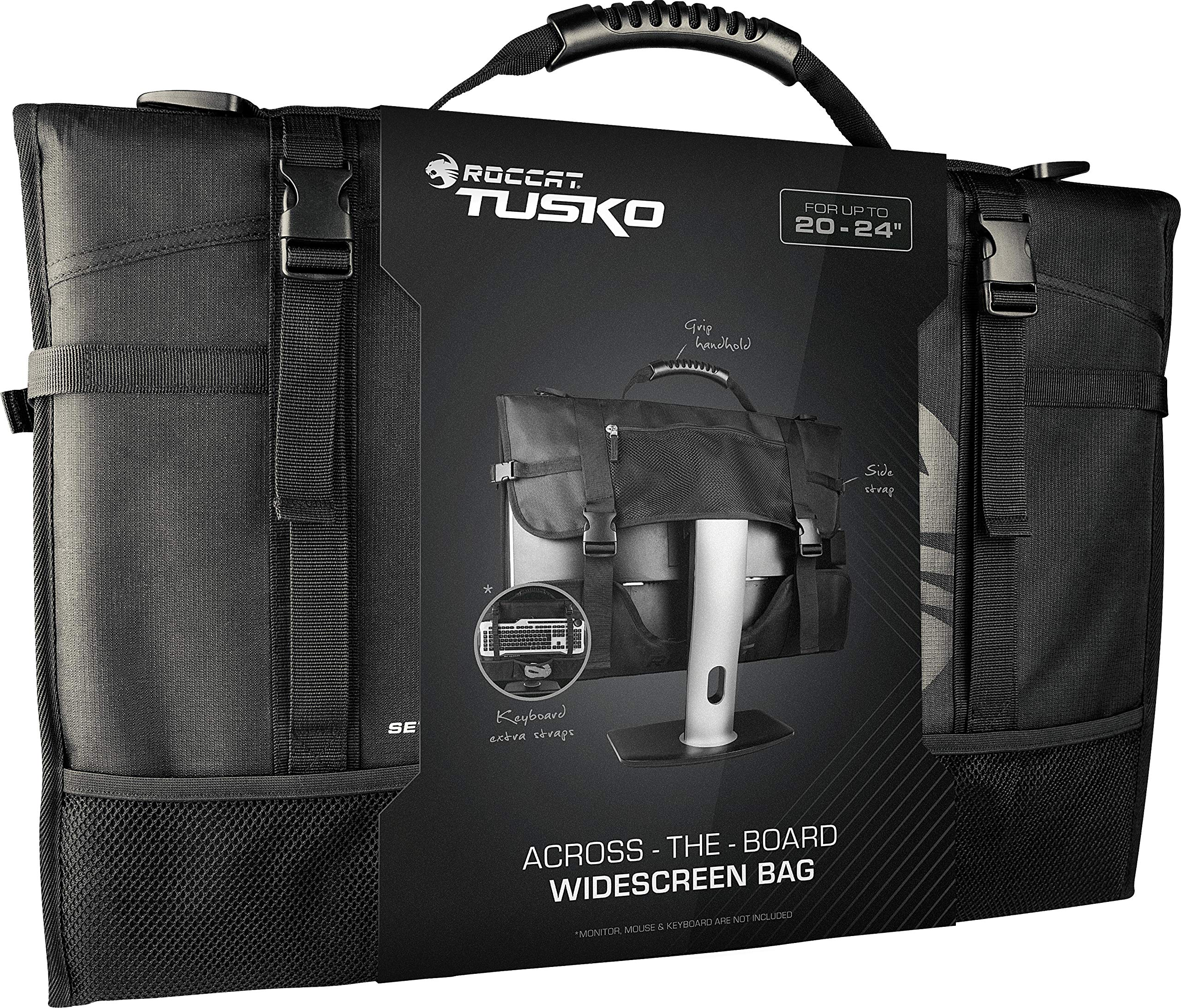 ROCCAT Latest Version Tusko Across-The-Board Flat Screen/Widescreen Bag, Black by ROCCAT (Image #2)