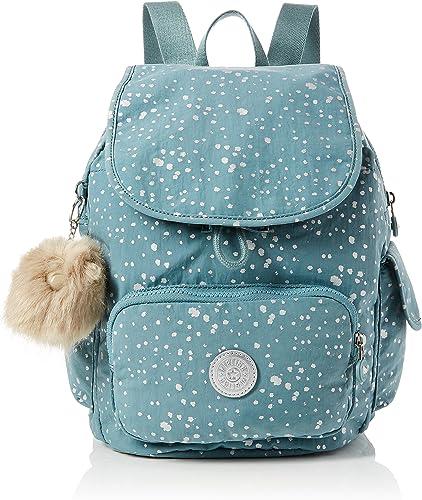 Kipling - City Pack S, Mochilas Mujer, Azul (Silver Sky), 19x27x33.5 cm (B x H T): Amazon.es: Zapatos y complementos