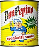 Don Pepino Spaghetti Sauce, 28 Ounce (Pack of 12)