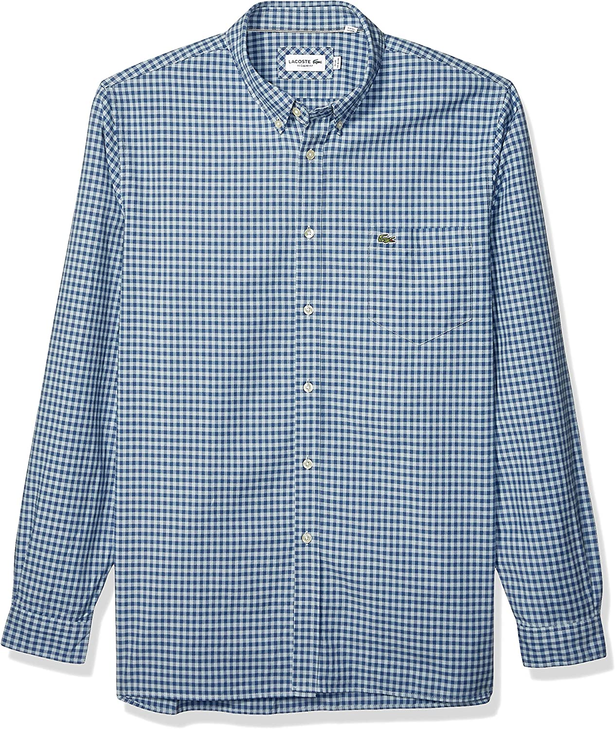 Howme Mens Classic-Fit Business Oxford Solid Long-Sleeve Woven Shirt