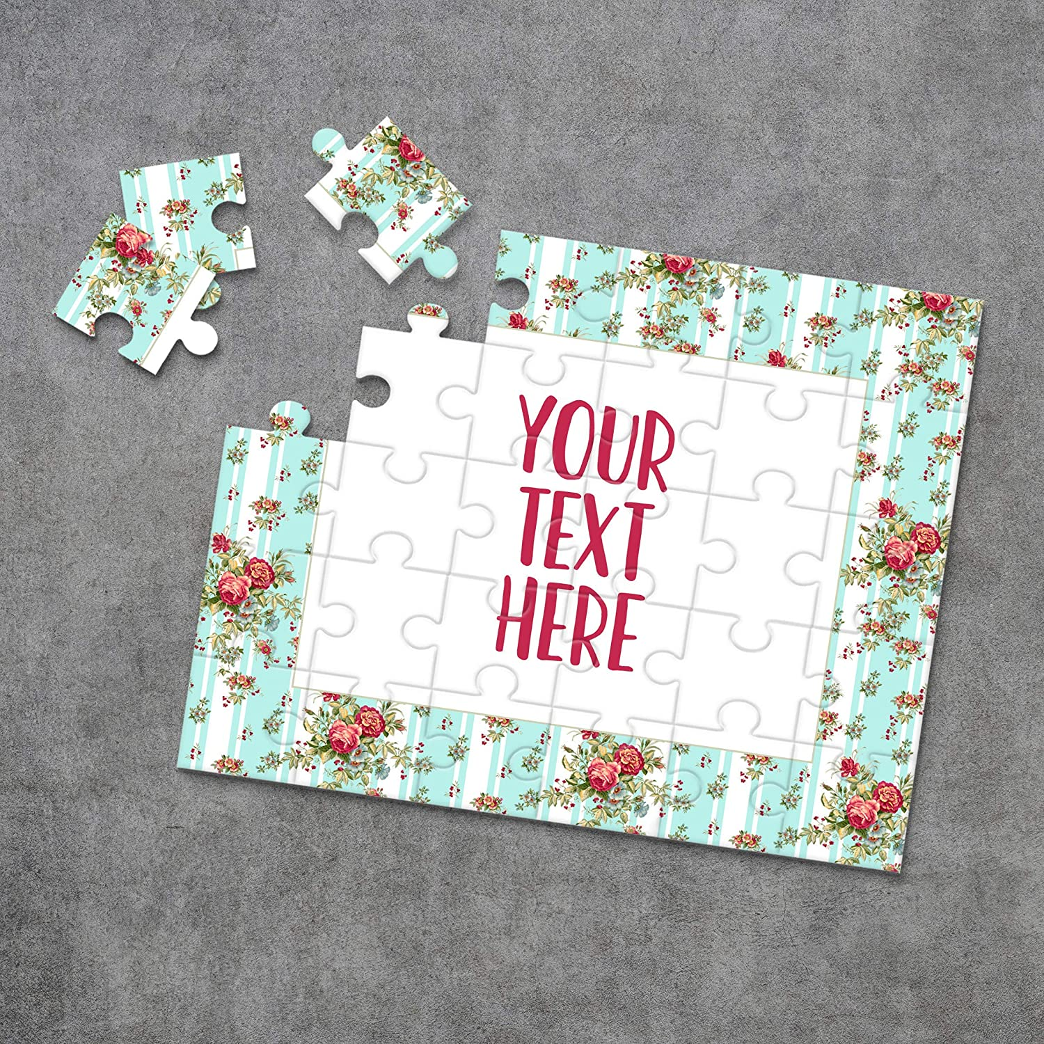 Create Your Own Puzzle Announcement Ideas Custom Puzzle CYOP0038 Personalized Puzzle Pregnancy Announcement Wedding Announcement