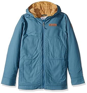Columbia Little Boys' Loma Vista Hooded Jacket, Blue Heron, XX-Small