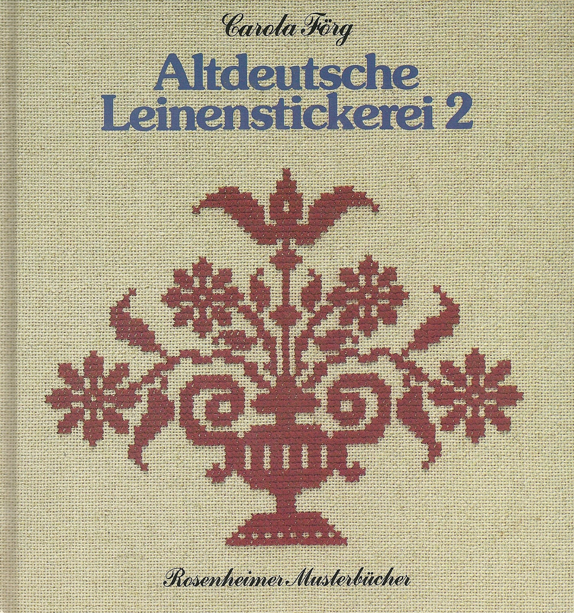 Altdeutsche Leinenstickerei 2