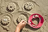 Kid O Quut Sunny Love Sand Shape Forming Beach Toy