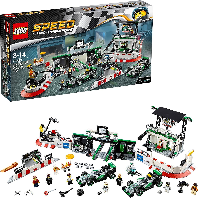 "LEGO Speed Champions 75883 ""Mercedes Amg Petronas Formula One Team Building Set"