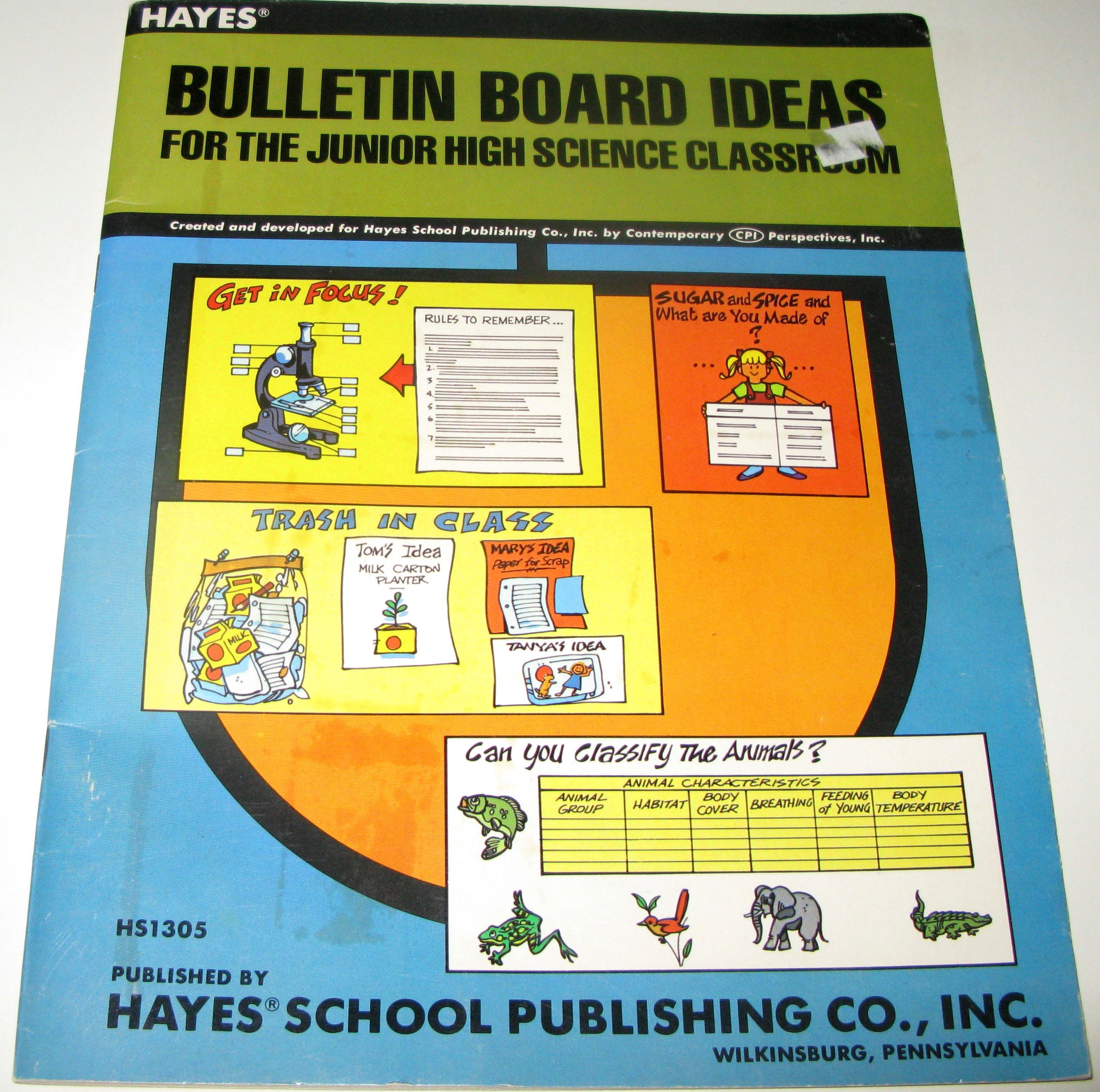 Bulletin Board Ideas for the Junior High Science Classroom