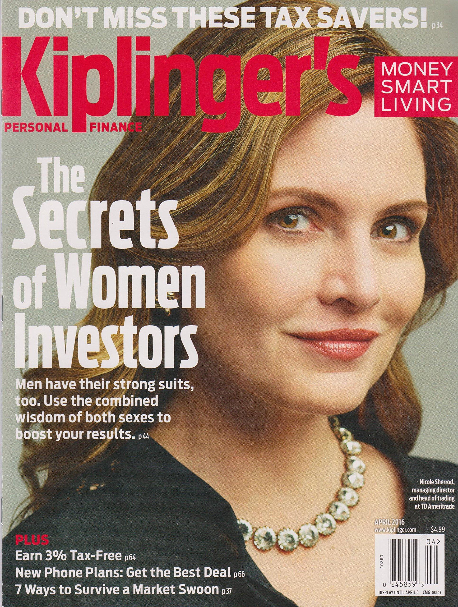 Read Online Kiplinger's April 2016 The Secrets of Women Investors pdf epub