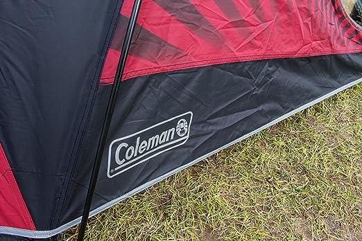 Coleman Blackout Zelt patentierte Nachtschwarz-Schlafkabine 3//4 Personen Leichtes Kuppelzelt mit Vorzelt 3//4 Mann Zelt Igluzelt Wasserdicht WS 4.500 mm Festivalzelt