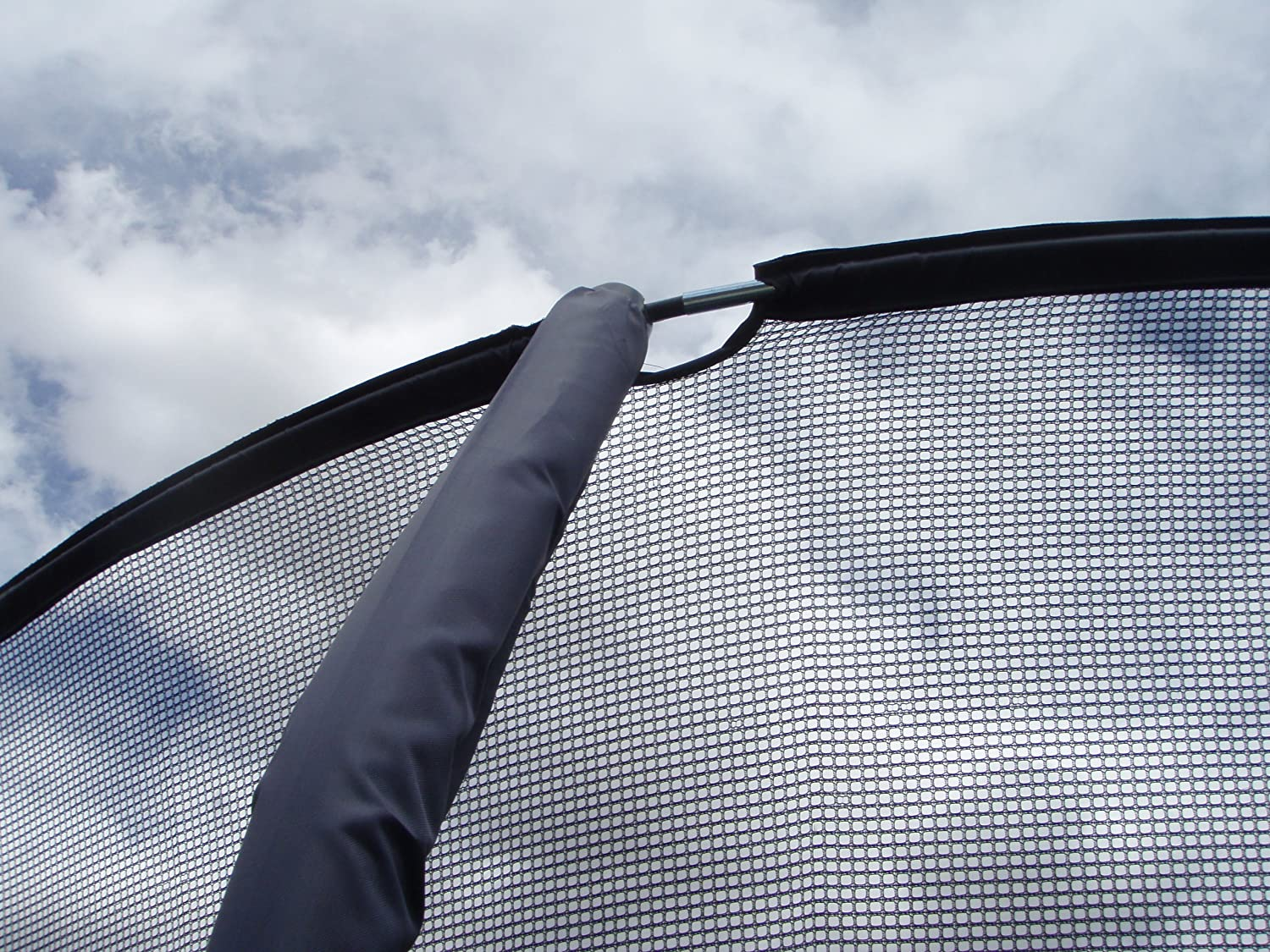JUMPKING REPLACEMENT NET FOR 15 TRAMPOLINE 4 LEG//4 STRAIGHT ENCLOSURE POLE