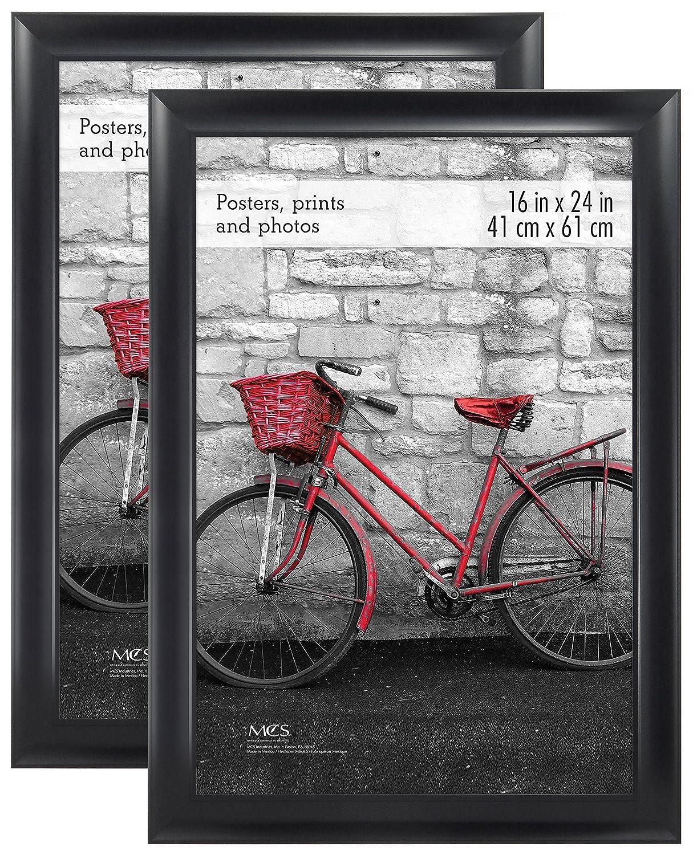 Amazoncom Mcs 16x24 Inch Wide Scoop Poster Frame 2pk Black