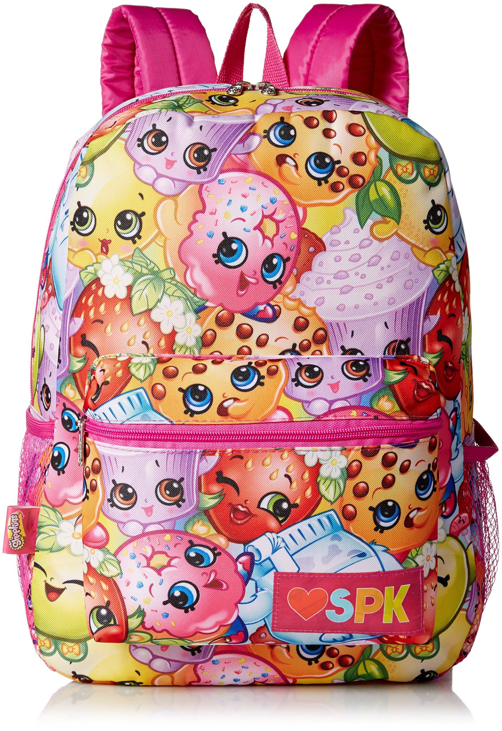 Shopkins Girls Print Backpack, multi by Shopkins