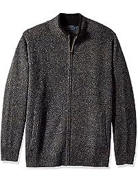 Pendleton Mens Shetland Full-Zip Cardingan Sweater Cardigan Sweater