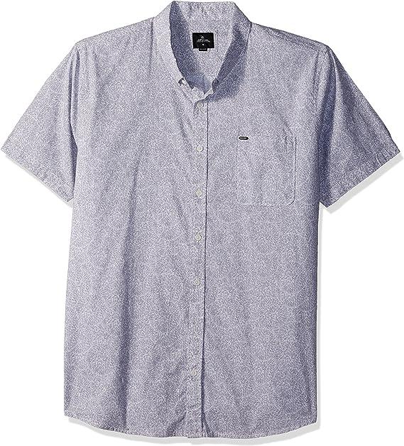 Rip Curl Hombres CSHBF7 Camisa con Botones - Gris - Small: Amazon ...