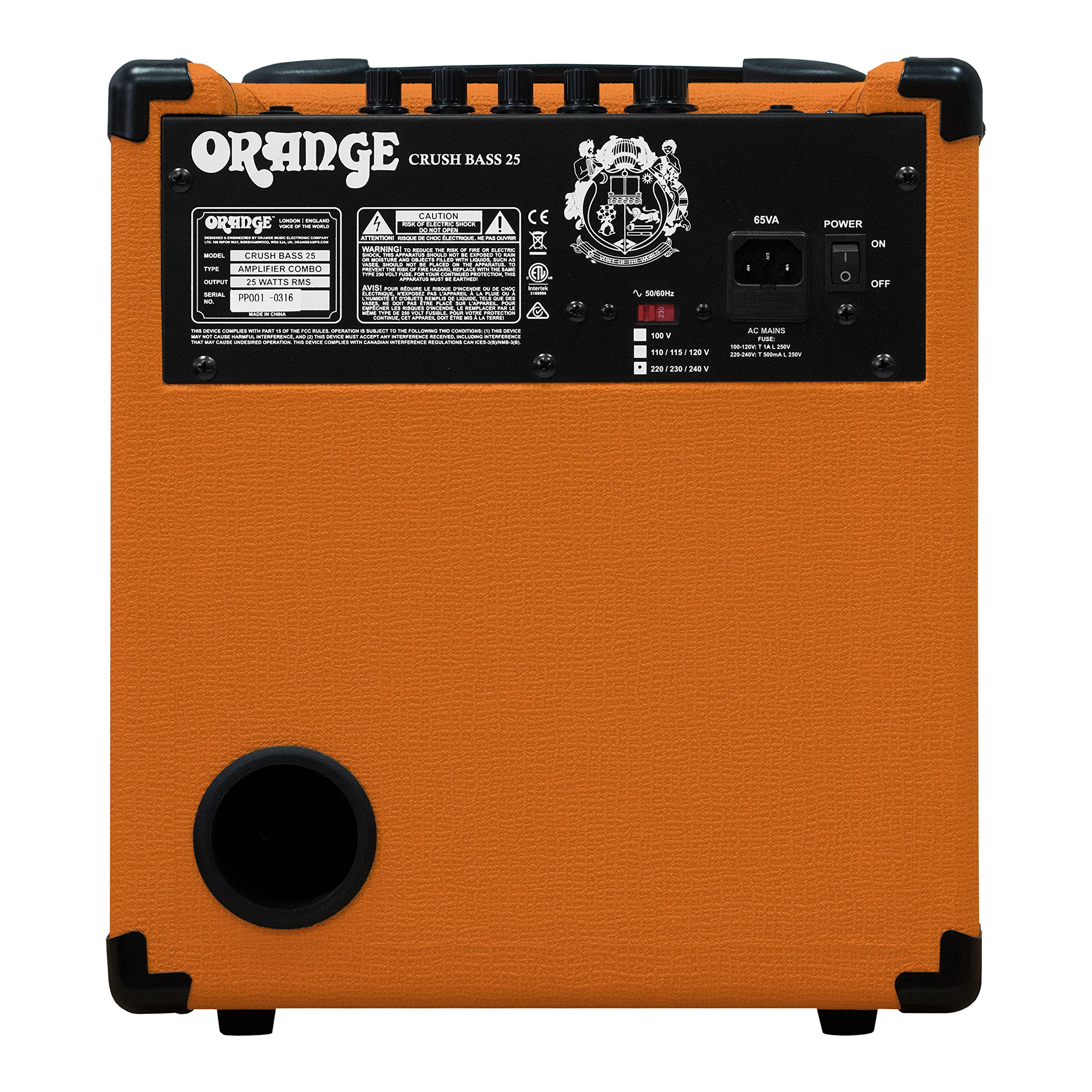 Orange Crush Bass 25W Bass Guitar Combo Amp, Orange by Orange Amps (Image #3)