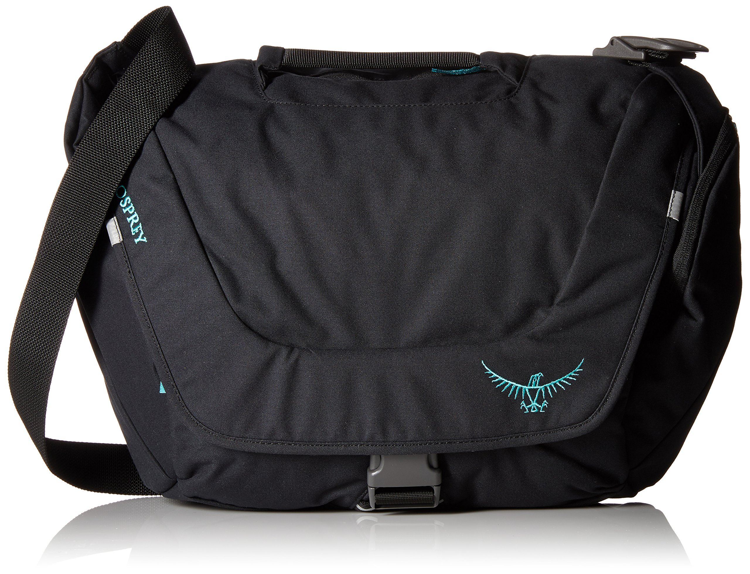 Osprey Women's FlapJill Courier Day Pack, Black