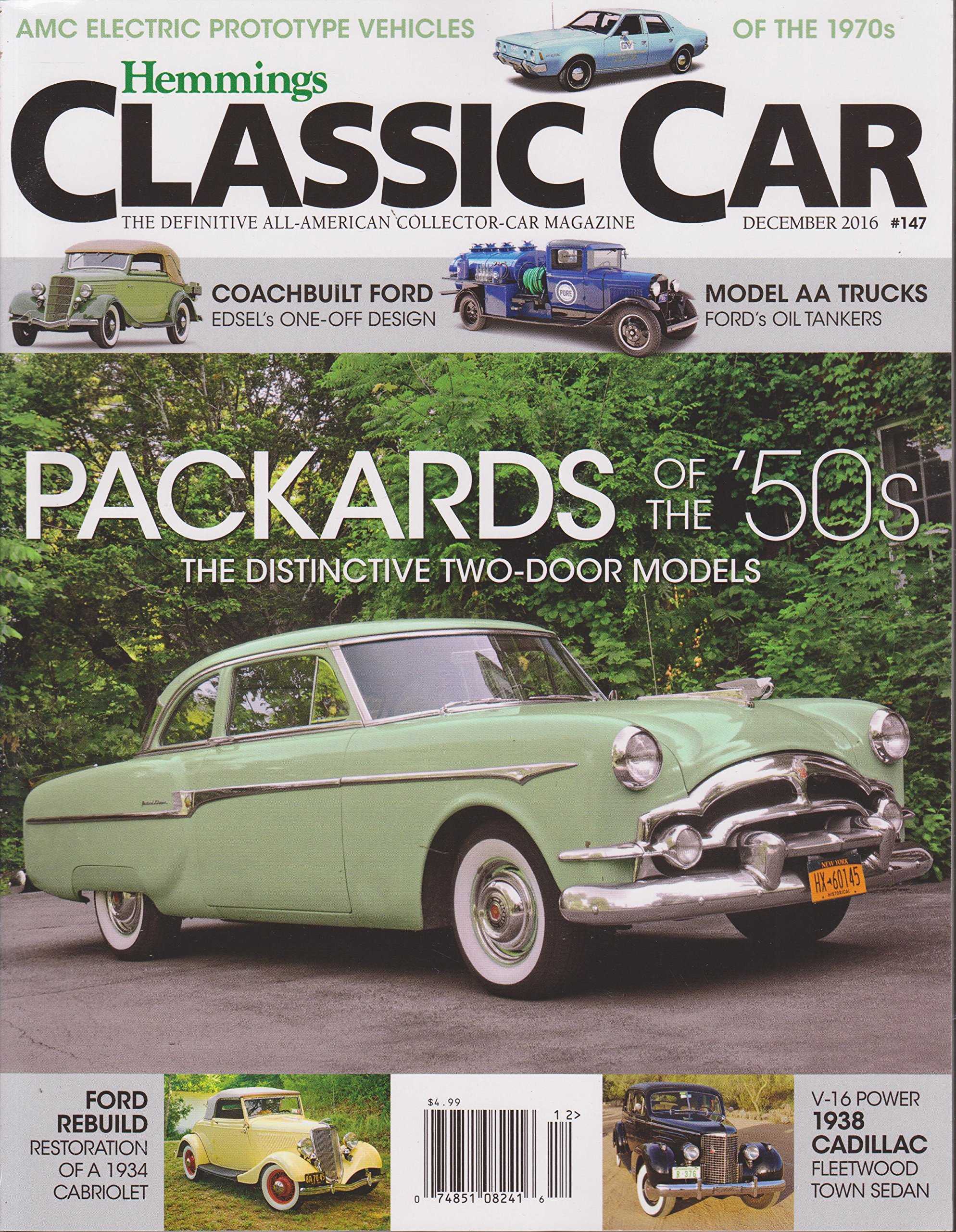 Download Hemmings Classic Car Magazine December 2016 ebook