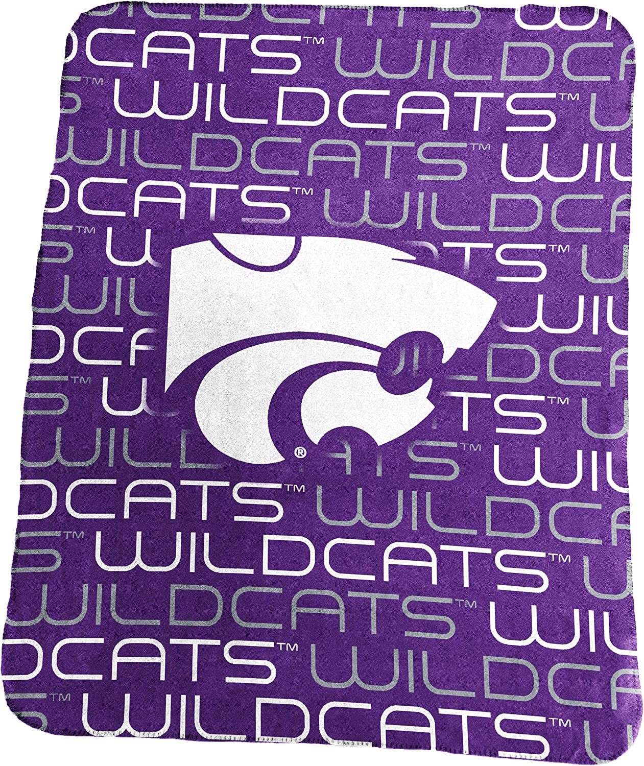 One Size Logo Brands NCAA Kansas State Wildcats Classic Fleece