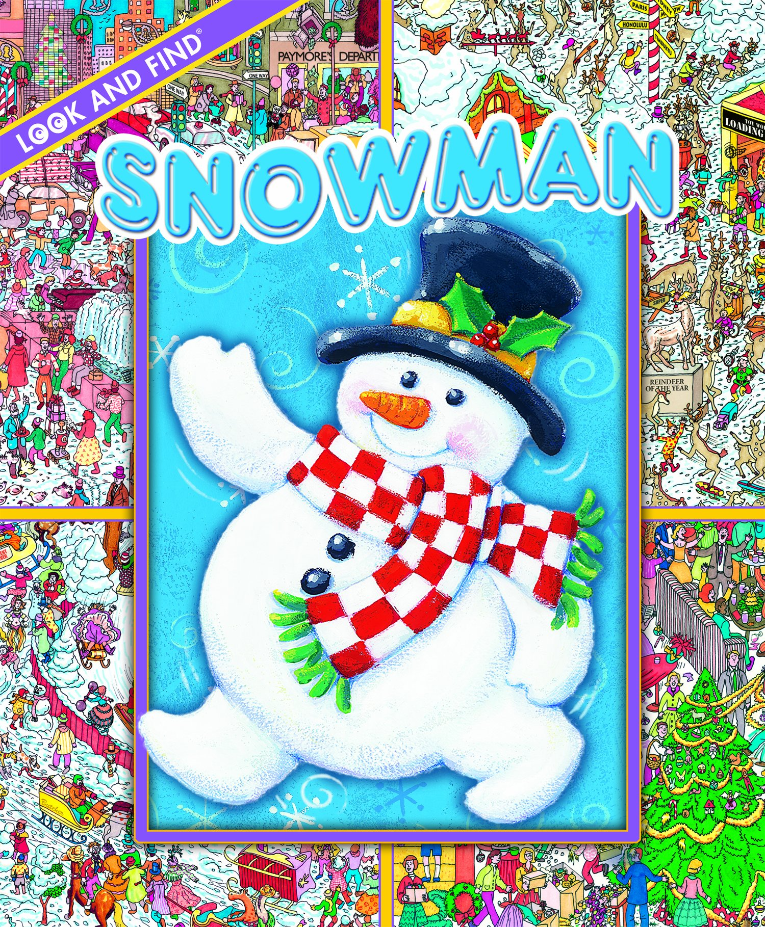 Download Look and Find: Christmas Snowman PDF