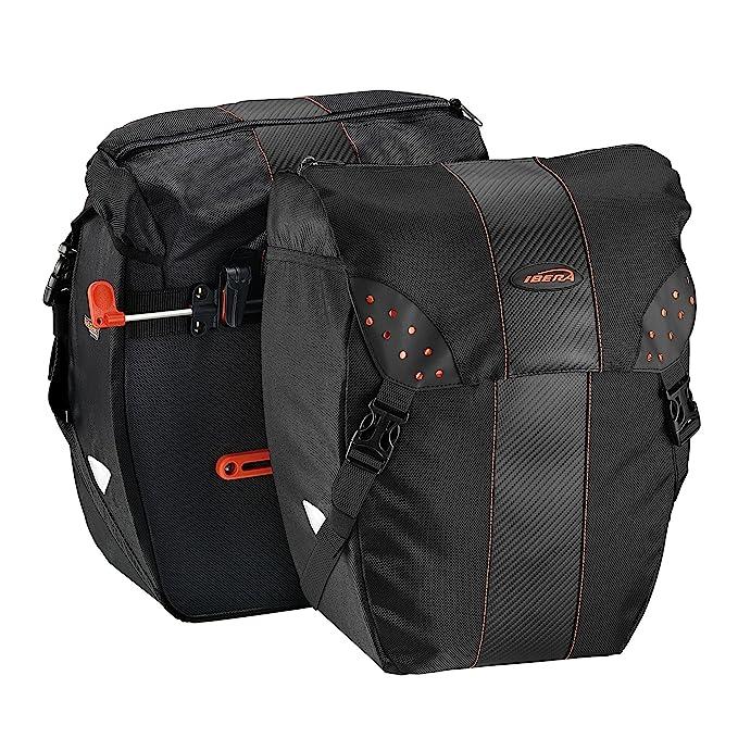 Amazon.com: Bolsa de bicicleta modelo PakRak. alforjas ...