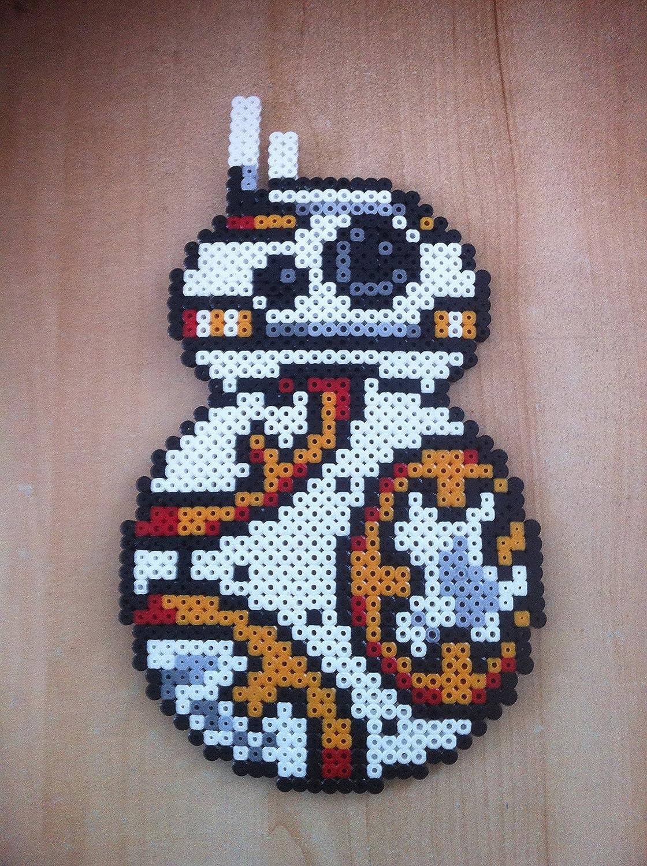 Pixel Art Perler Beads Star Wars Bb 8 Amazoncouk Handmade