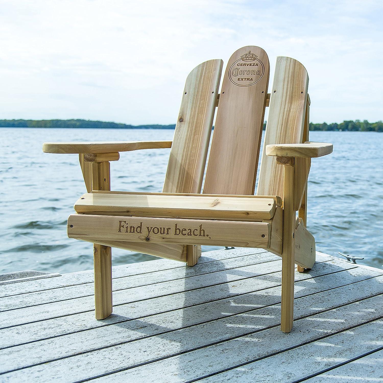 Heavy Duty Sun Lounger, Corona Adirondack Chair White Cedar Wood Amazon Co Uk Sports Outdoors
