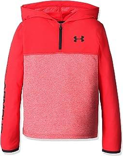 adidas HeatGear Threadborne Training Hooded Pullover Kids, Red/Black, YXL-164 Under Armour 1289993-600