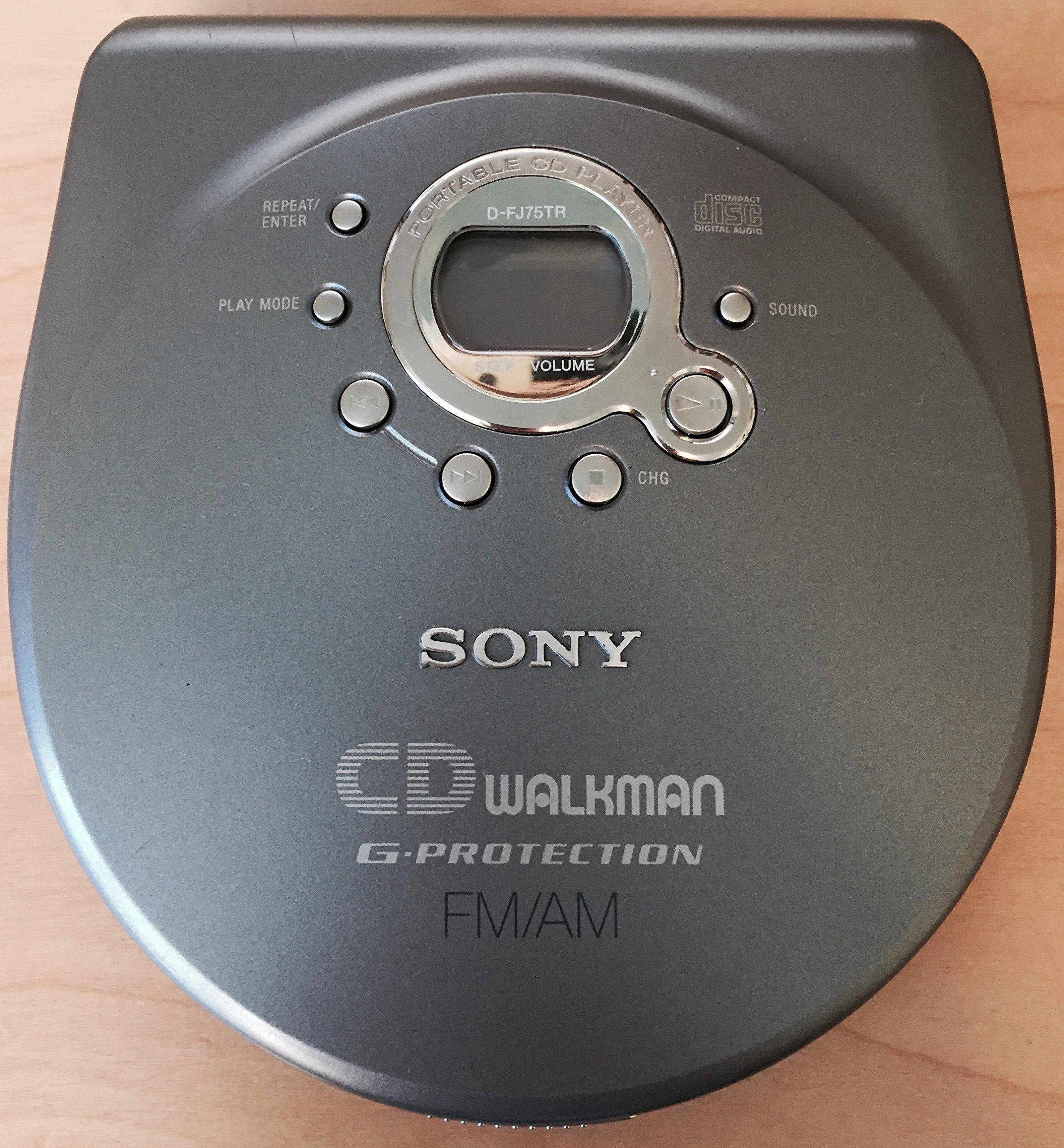 Sony CD Walkman D-FJ75TR - CD player - silver