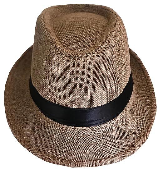 CLUB CUBANA Sombrero Fedora Unisex para Hombres Y Mujeres Sombrero ... 8824c8a218f