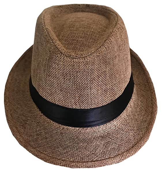 162542613e0e1 CLUB CUBANA Sombrero Fedora Unisex para Hombres Y Mujeres