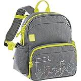 Lässig Medium Backpack About Friends mélange Grey Sac à Dos Enfants, 30 cm, Gris (Grey)