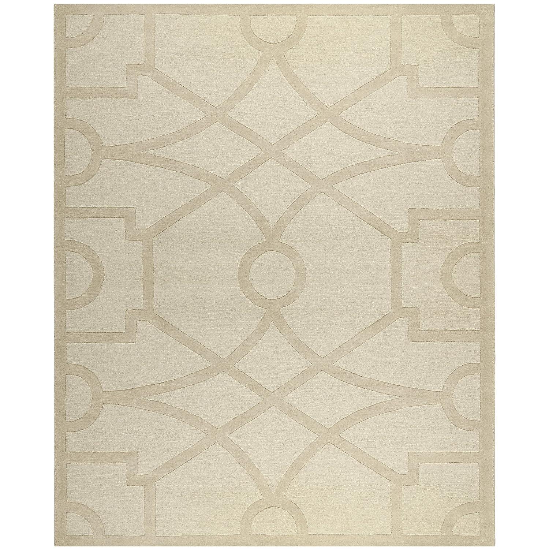 Safavieh Martha Stewart Collection MSR4612C Handmade Premium Wool Buckwheat Flour Area Rug (8' Diameter)
