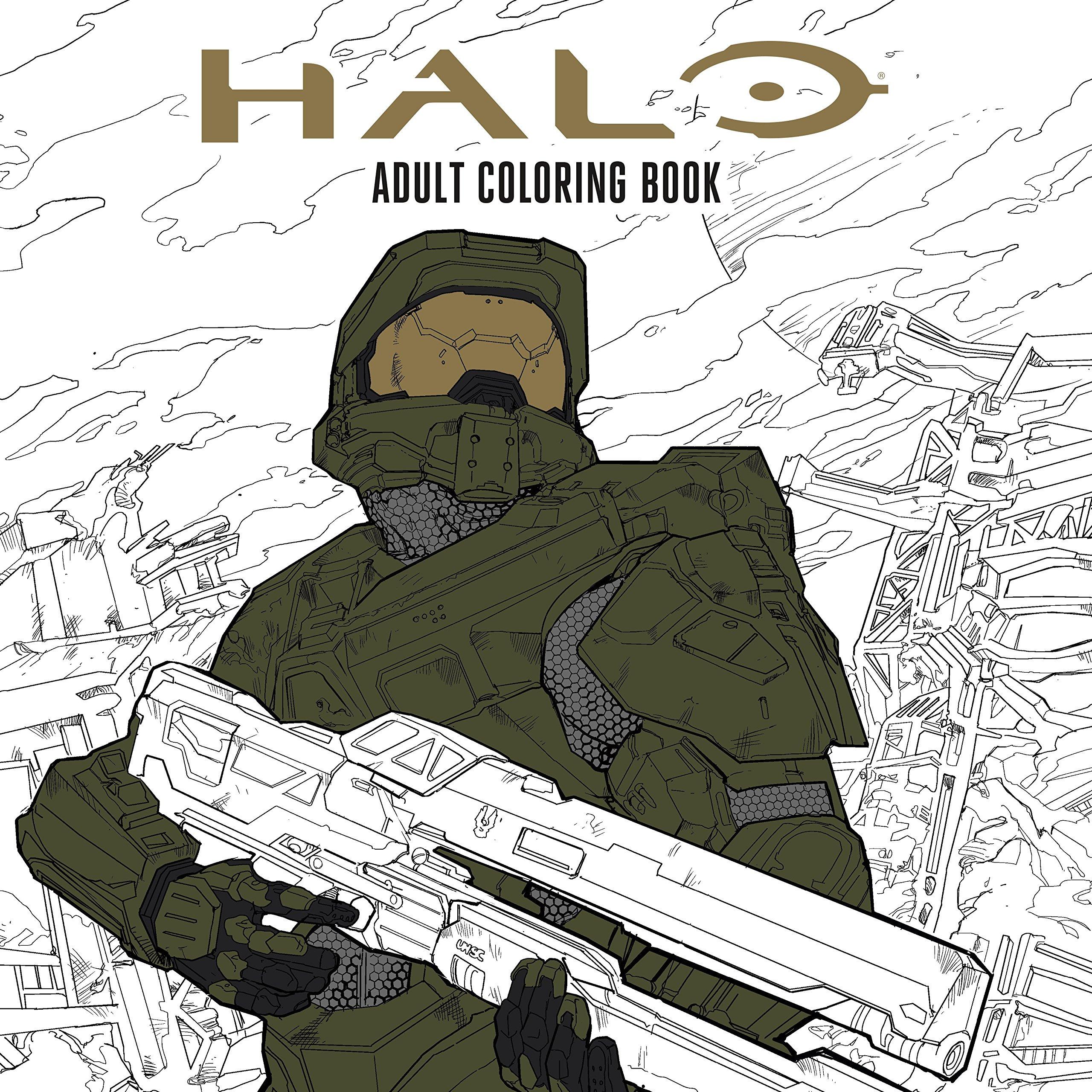 Halo Coloring Book