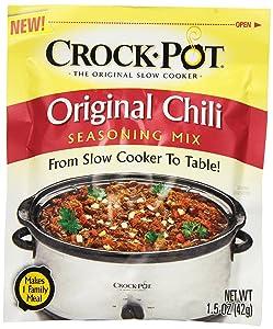 Crock Pot Seasoning Mix, Original Chili, 1.5 Ounce (Pack of 12)