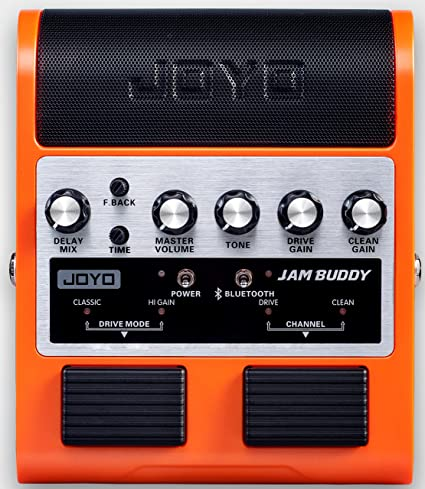 Amazon.com: Joyo JAM BUDDY Portable Dual channel 2x4W Guitar Pedal Amp (Orange): Musical Instruments