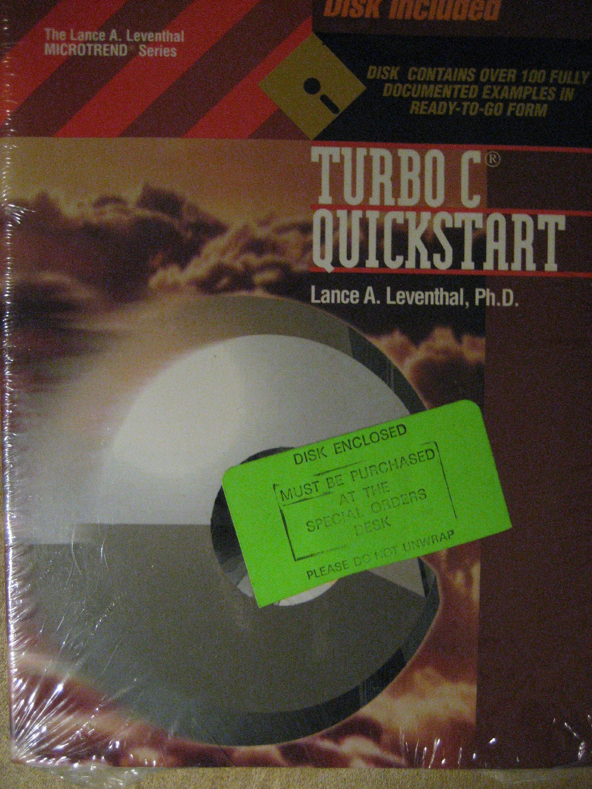 Turbo C. QuickStart Lance A. Leventhal Microtrend Series: Amazon.es: Lance A. Leventhal: Libros en idiomas extranjeros