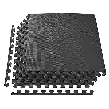 Proiron Interlocking Foam Floor Mats Exercise Gym Puzzle Mat