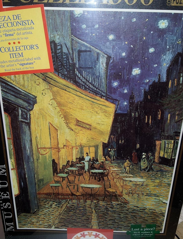 Van Gogh Puzzle 1500 Pieces Educa Exterior of Cafe in Arles Nocturne V