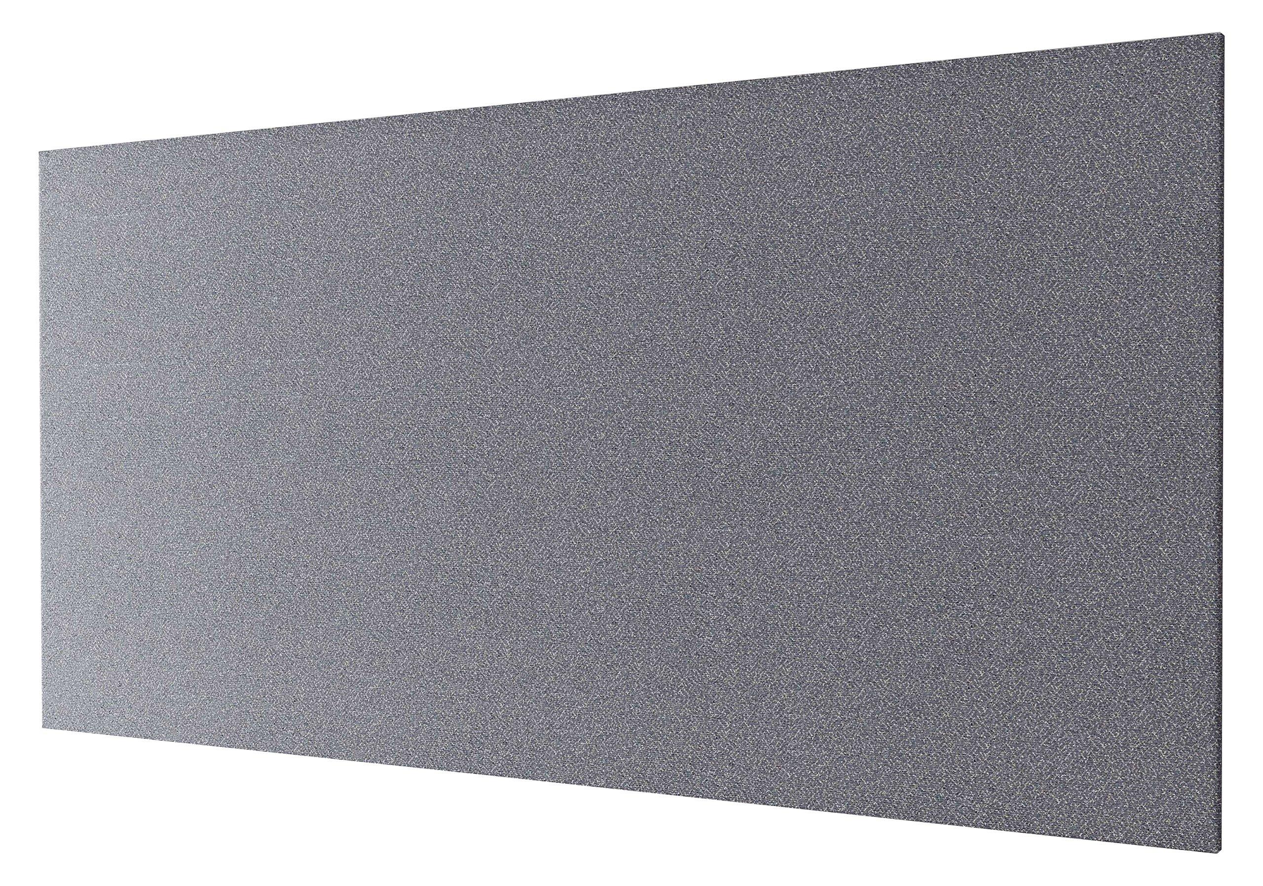 OBEX 30X60-TB-R-GR Rectangle Tackboard Contemporary Graphite