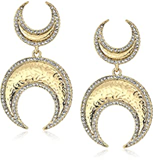 House Of Harlow Gift of Iah Dangle Earring in Metallic Gold