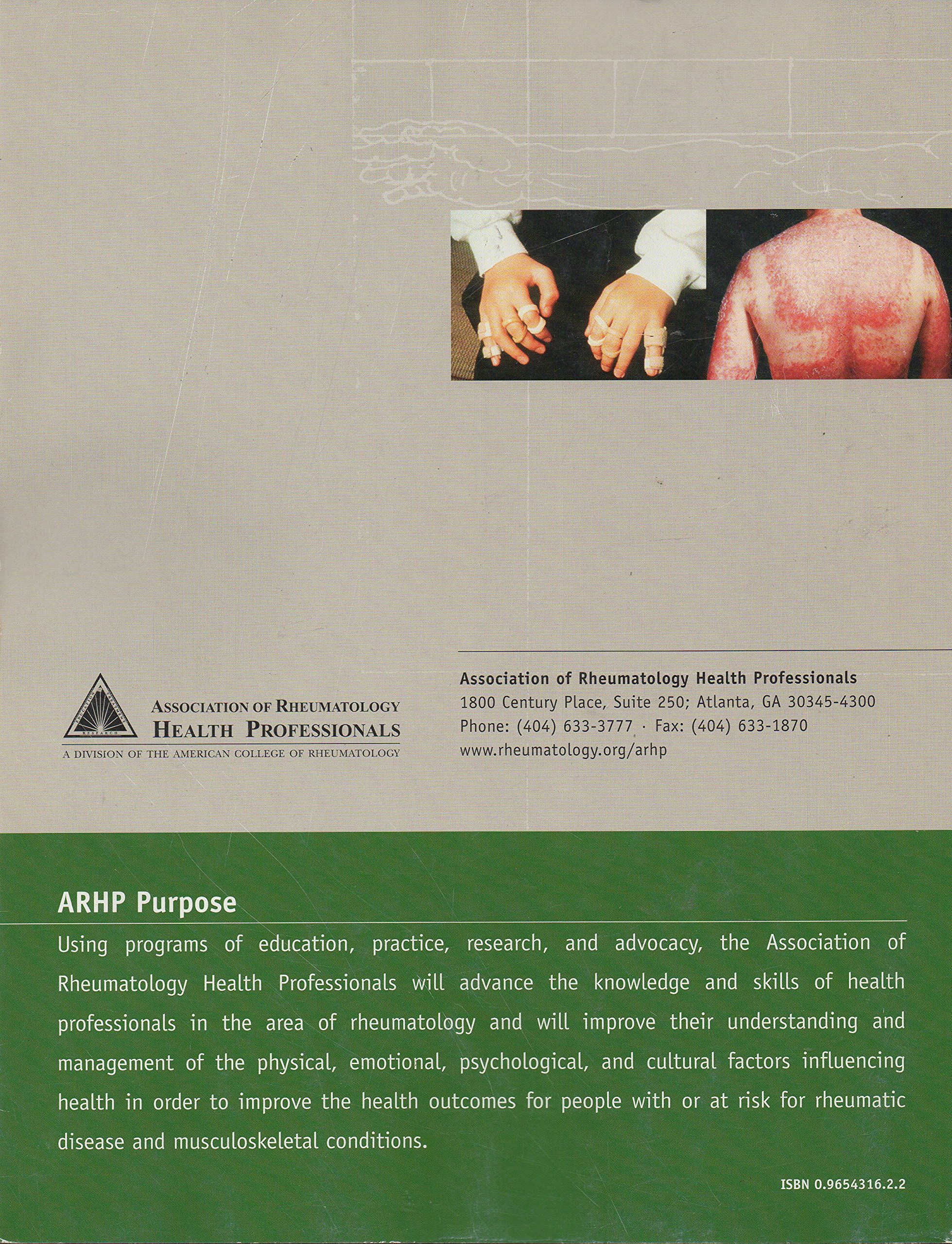 Clinical Care in the Rheumatic Diseases: Arhp: 9780965431620