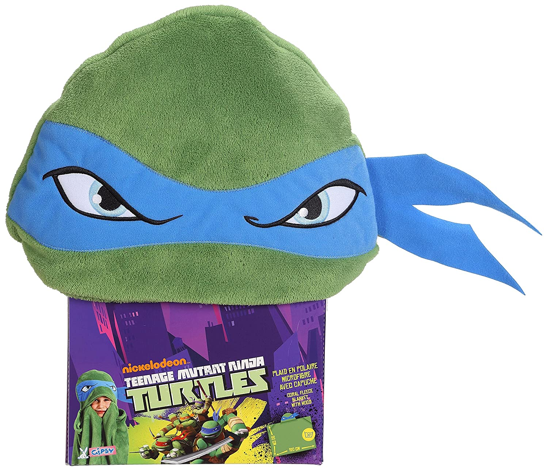 Gipsy 070397 - Peluche - Plaid imals Tortugas Ninja - Azul ...