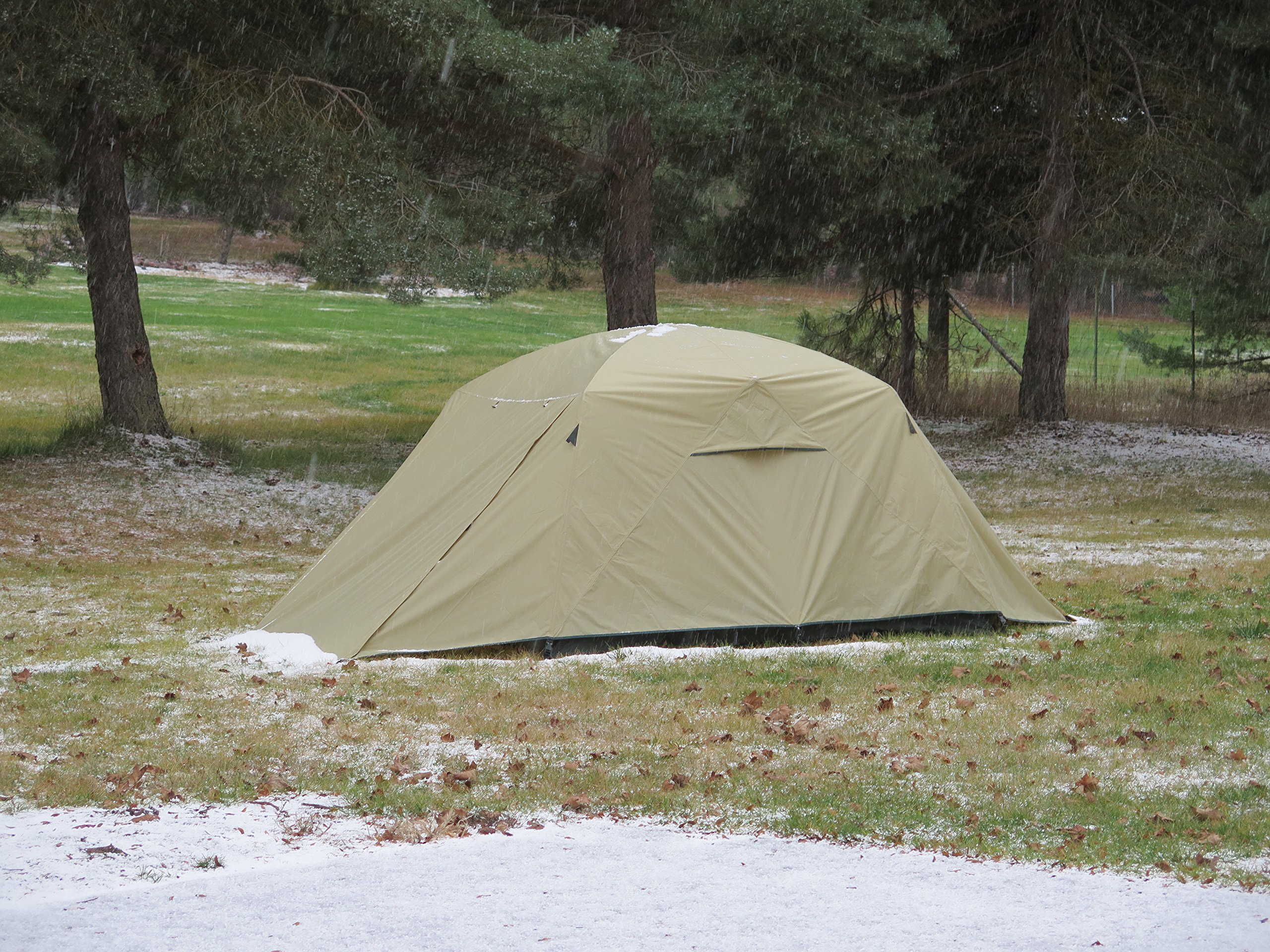 Camp Time Expedition Tent, Fast set-up, 100 square feet including vestibules, floor liner, awning poles, 7001-T6 aluminum, Designed for your cots-stools-tables,. by Camp Specialties (Image #8)
