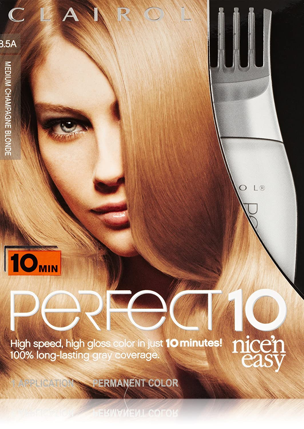 Amazon Clairol Perfect 10 By Nice N Easy Hair Color 85a