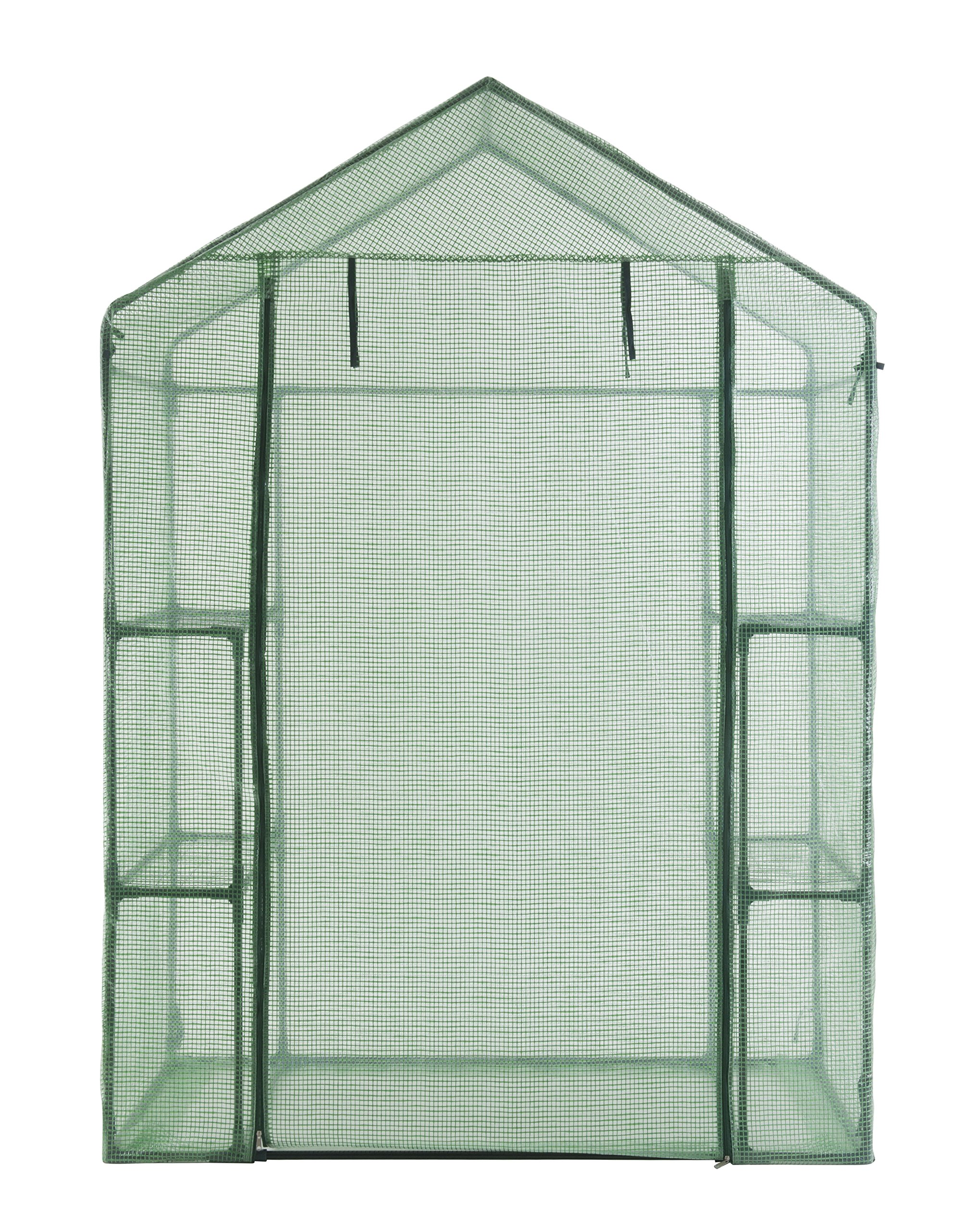 GOJOOASIS Walk in Portable Garden Greenhouse Mini Plants Shed Hot House with 3 Tiers by GOJOOASIS (Image #4)