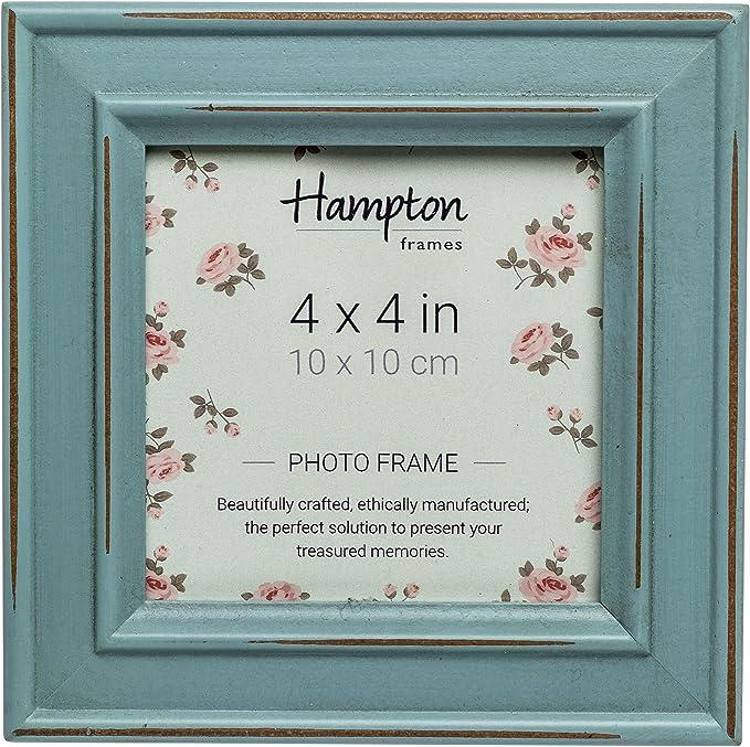Hampton cornici Paloma Cornice portafoto Legno 14.5/x 14.5/x 2.5/cm Bianco