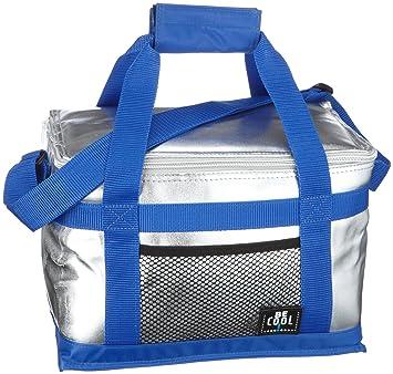 BeCool Alfi 0007.166.000 T-166 Sac isotherme Argenté/bleu 7FOt1Aw